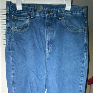 - Carhartt Relaxed Fit Jeans Sz 34x30